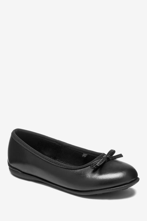 Next Leather Ballet Shoes (Older)