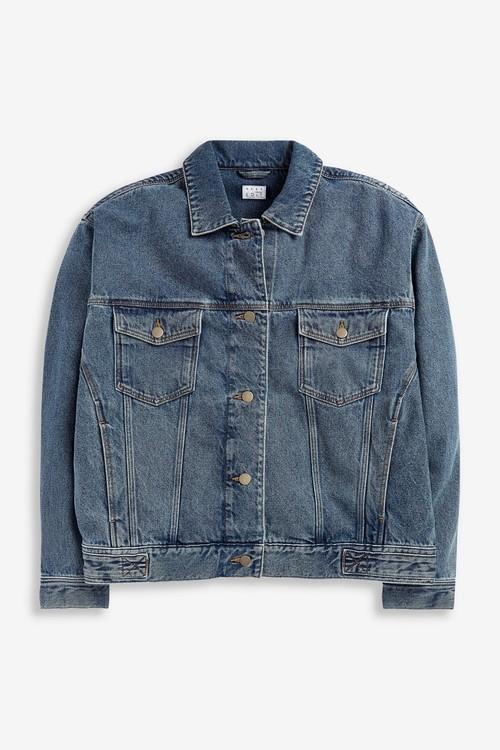 Next Oversized Denim Jacket