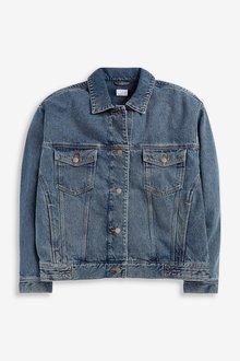 Next Oversized Denim Jacket - 291820
