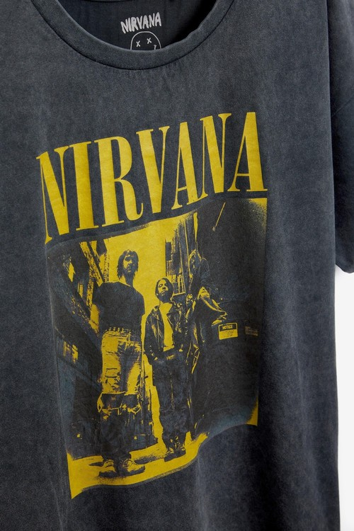 Next Oversized Nirvana T-Shirt