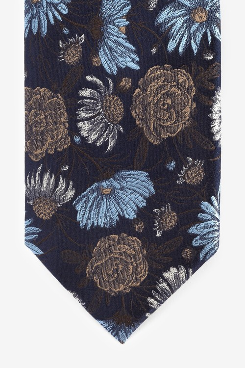 Next Floral Signature Silk Tie