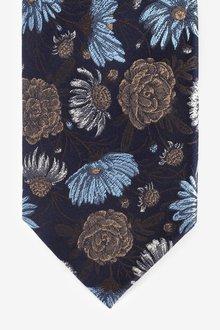 Next Floral Signature Silk Tie - 291836