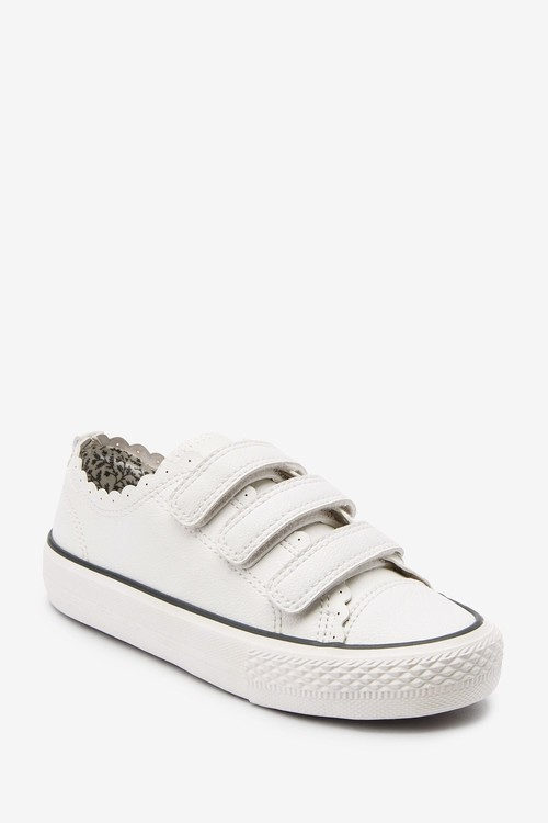 Next Scalloped Touch Fastening Trainers (Older)