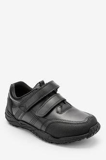 Next Leather Double Strap Shoes (Older)-Extra wide - 291874