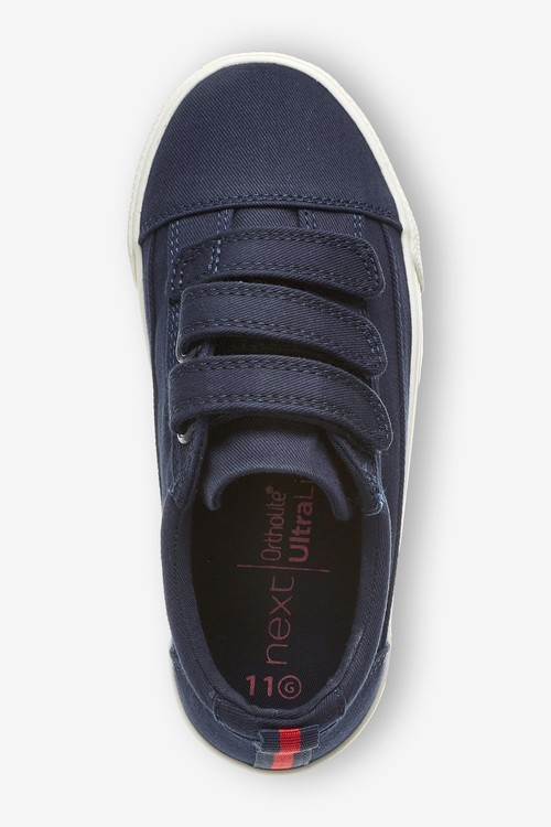 Next Strap Touch Fastening Shoes (Older)-Wide Fit