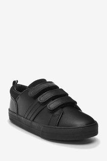 Next Leather Triple Strap Shoes (Older) - 291879