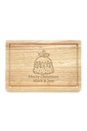 Personalised Christmas Pudding Chopping Board