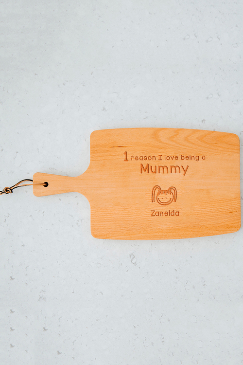 Personalised Reasons Why Cheese Board (1 Head)