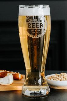 Personalised Beer Lover's Giant Beer Glass - 292070