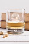 Personalised Improves With Age Whisky Glass