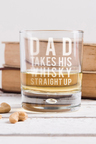 Personalised Takes His Whisky Glass