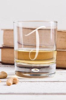 Personalised Monogram Whisky Glass - 292077