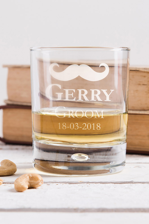 Personalised Special Occasion Whisky Glass