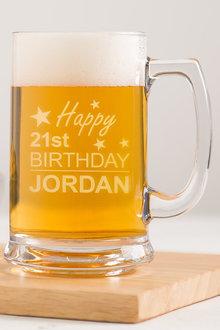 Personalised Birthday Beer Tankard - 292079