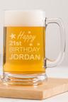 Personalised Birthday Beer Tankard