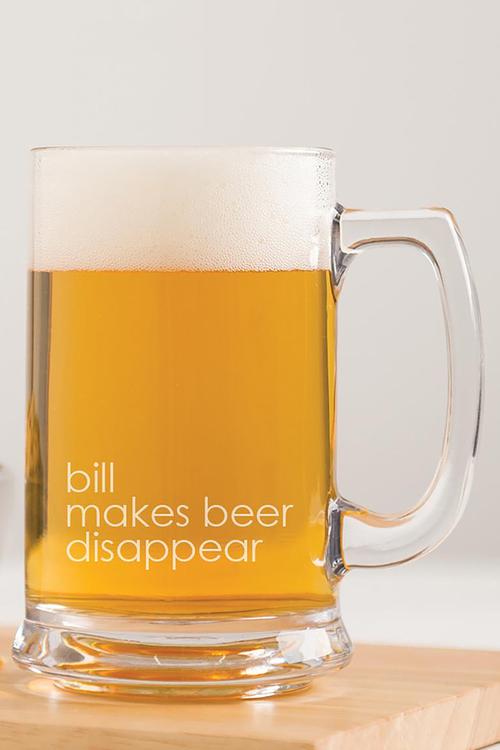 Personalised Custom Message Beer Tankard