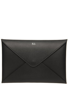 Personalised Monogrammed Leather A5 Envelope Pouch - 292091