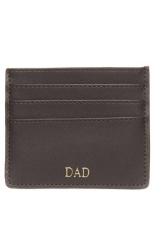 Personalised Monogrammed Leather Card Sleeve - 292092