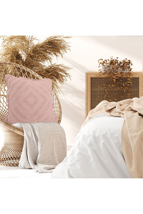 Splosh Byron Bliss Textured Blush Cushion