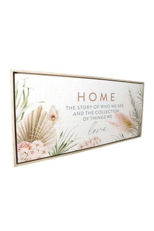 Splosh Byron Bliss Home Framed Canvas