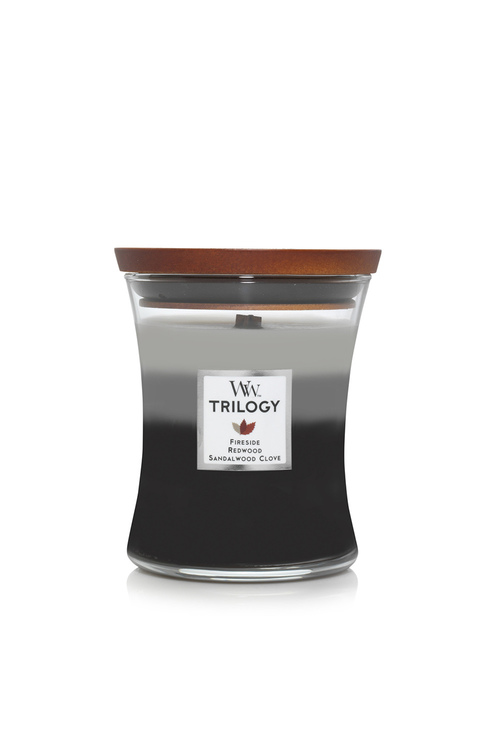 Woodwick Warm Woods Trilogy Candle