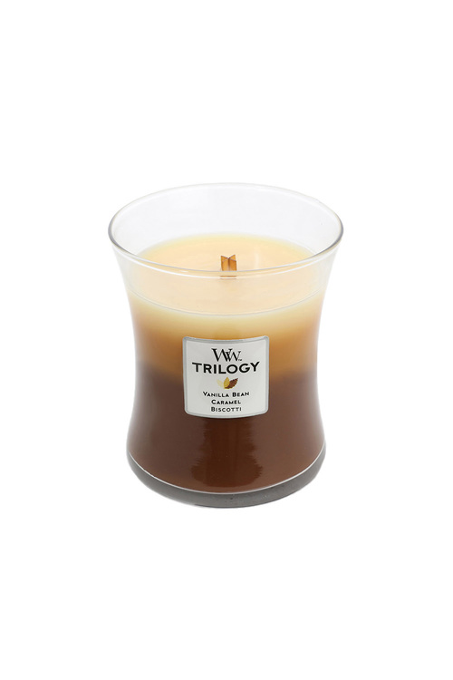 Woodwick Cafe Sweets Trilogy Candle