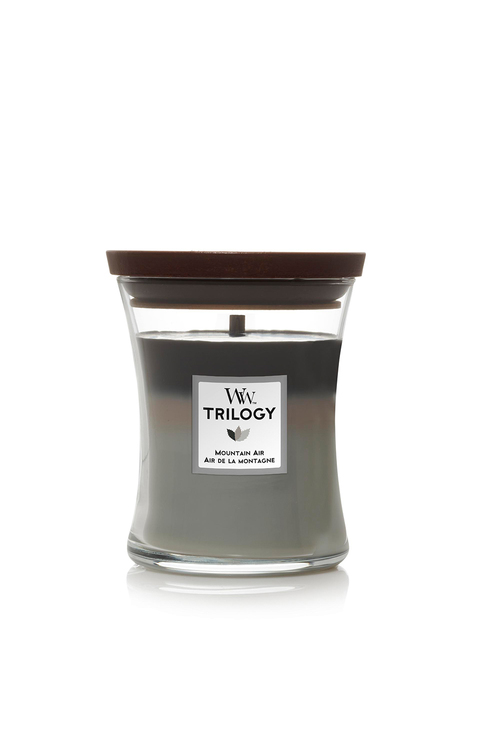 Woodwick Mountain Air Trilogy Candle