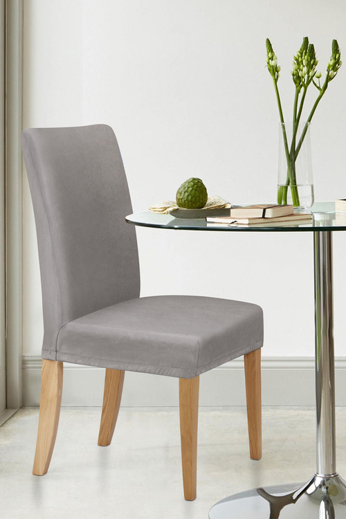 Sherwood Home Premium Faux Suede Chair Cover