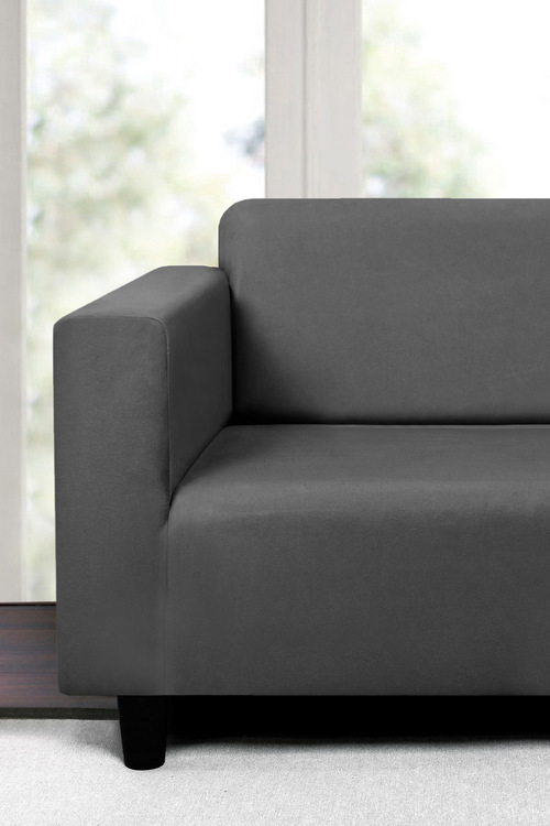 Sherwood Home Premium Faux Suede 2 Seater Sofa Cover
