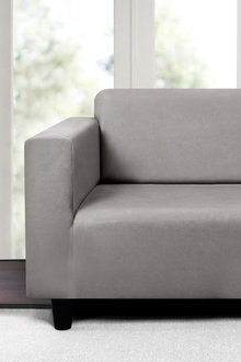 Sherwood Home Premium Faux Suede 2 Seater Sofa Cover - 292259