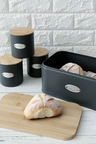 Sherwood Home Bread Box and Canister Set