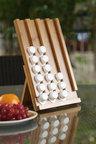 Sherwood Home Bamboo Nespresso Compatible Coffee Pod Waterfall Stand