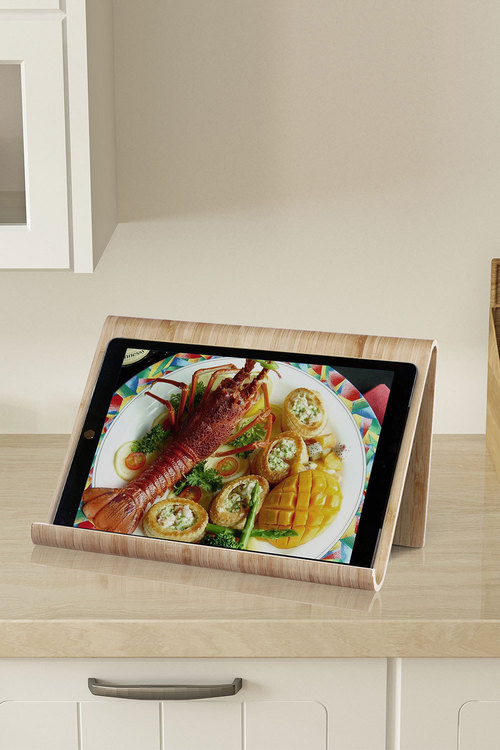 Sherwood Home Kitchen Cook Book and Ipad/Tablet Stand