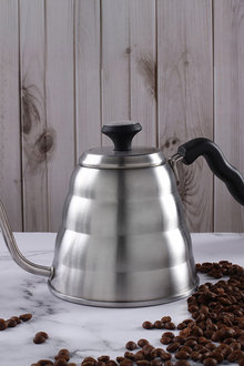 Sherwood Home Stainless Steel Filter Brew V60 Pour Over Coffee Kettle - 292294