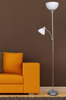 Sherwood Lighting Sprout Flour Uplighter and Reading Floor Lamp - 292303