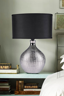 Sherwood Lighting Cosmo Contemporary Bedside Table Lamp - 292311