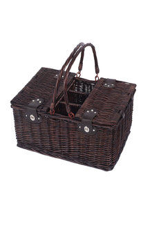 Sherwood Home Newbury Wicker Picnic Basket 4 People - 292318