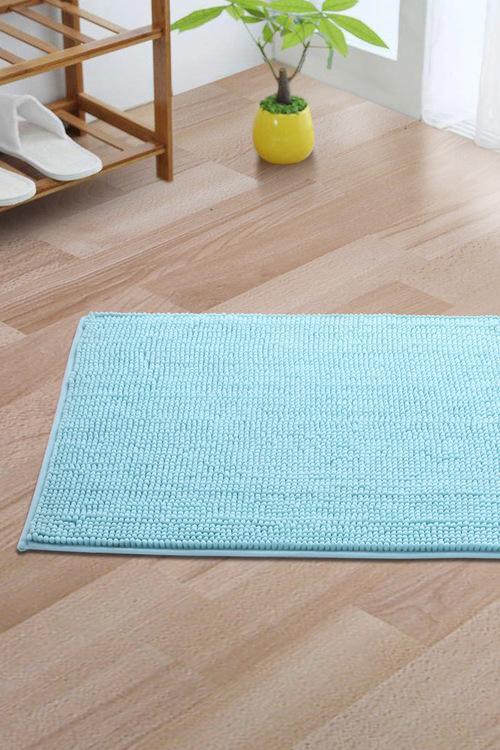 Sherwood Home Chenille Bath Floor Mat