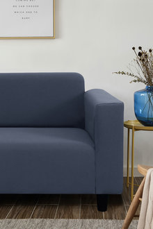 Sherwood Home Jacquard Easy Stretch 4 Seater Sofa Cover - 292343
