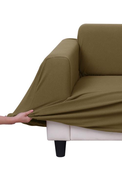Sherwood Home Jacquard Easy Stretch 3 Seater Sofa Cover