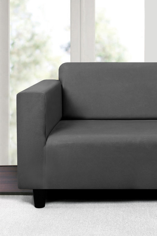 Sherwood Home Premium Faux Suede 3 Seater Sofa Cover