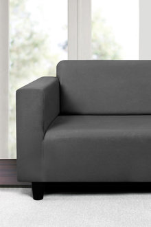 Sherwood Home Premium Faux Suede 3 Seater Sofa Cover - 292353