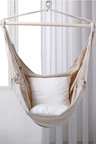 Sherwood Home Indoor and Outdoor Hammock Chair Swing