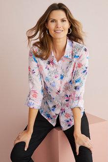 W.Lane Floral Print Shirt - 292438