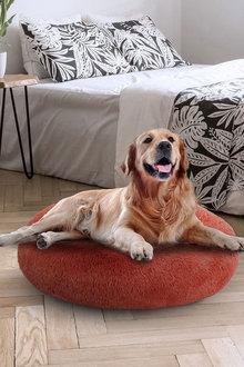 Charlies Pet Faux Fur Fuffy Calming Pet Bed Nest - 292475
