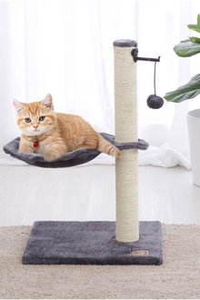 Charlies Pet Bowl and Chain Cat Tree - 292536