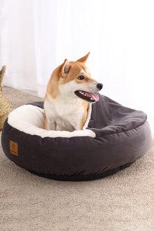Charlies Pet Hooded Corduroy Snookie Pet Nest - 292547