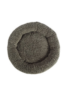 Charlies Pet Calming Chenille Plush Round Pet Bed - 292553