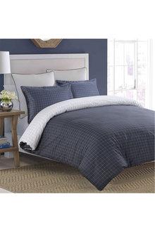 Dreamaker Printed Cotton Sateen Quilt Cover Set Walker - 292589