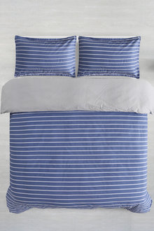 Dreamaker Printed Cotton Sateen Quilt Cover Set Monte Carlo - 292590